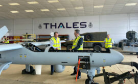 Secretary of State for Wales at Thales-WWA site - July 2020